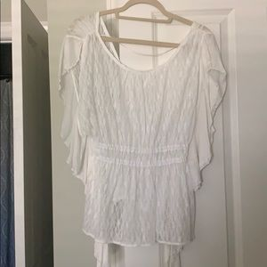 FREE PEOPLE NEVER WORN LACE BLOUSE
